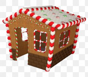 Gingerbread House Day - Gingerbread House Christmas Ornament PNG