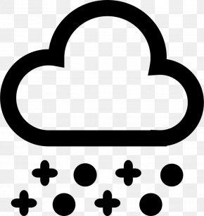 Snow - Snow Flurry Clip Art Cloud Weather PNG