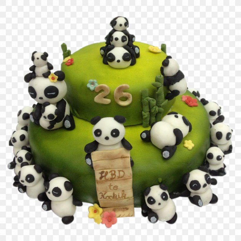 Awe Inspiring Birthday Cake Torte Cake Decorating Giant Panda Png 900X900Px Funny Birthday Cards Online Aboleapandamsfinfo