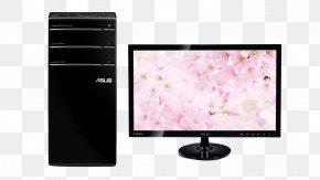 Desktop PC - Dell Hewlett Packard Enterprise Asus Desktop Computer Display Device PNG