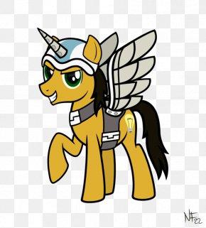 Fall Flyer - Pony Clip Art Horse Paper Flyer PNG