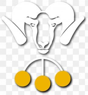 Big Horn - Cattle Horn Goat Line Art Clip Art PNG