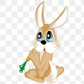 Easter Bunny - Easter Bunny Hare Rabbit Clip Art PNG