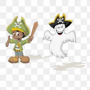 Vector Cartoon Pirate Material - Piracy Clip Art PNG