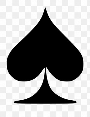 Suit - 0 Ace Of Spades Playing Card Suit PNG
