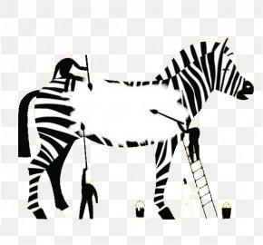 Depicting Zebra - Artist Illustrator Communication Arts Illustration PNG