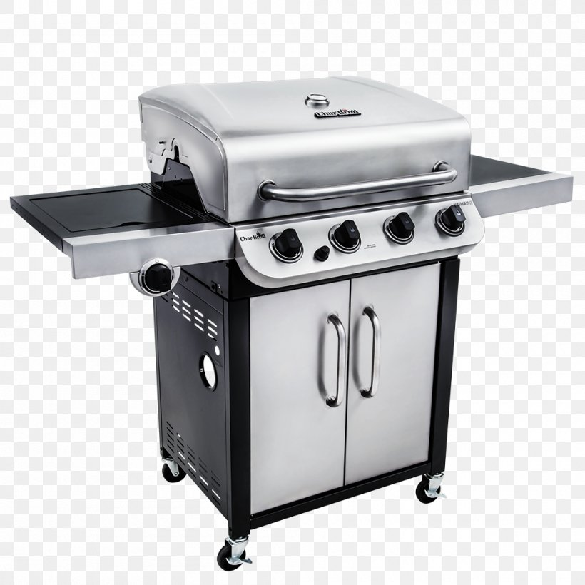 Barbecue Char-Broil Performance Series 463377017 Grilling Gas Burner, PNG, 1000x1000px, Barbecue, Charbroil, Charbroil Truinfrared 463633316, Cooking, Cookware Accessory Download Free