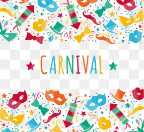 Creative Colored Carnival Background Vector Material - Carnival Party PNG