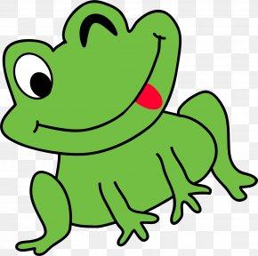 Frog - Frog Humour Cartoon Clip Art PNG
