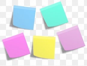 Construction Paper Paper Product - Post-it Note PNG