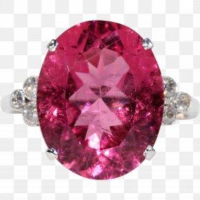 Pink Lady Martini - Ruby Ring Jewellery Carat Diamond PNG
