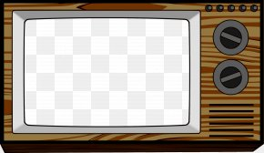 Rectangle Tv Cliparts - Television Free-to-air Clip Art PNG
