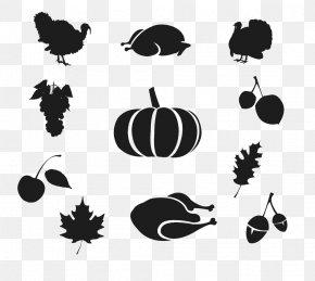Black Pumpkin - Fast Food Italian Cuisine Silhouette PNG