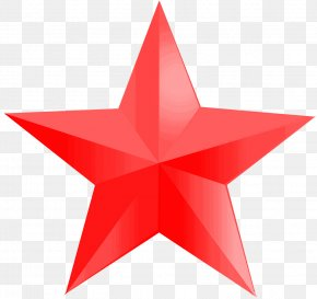 Red Star - Red Star Big Star Icon PNG