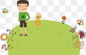 Creative Human And Animal Objects - Family Euclidean Vector Object Happiness Animation PNG
