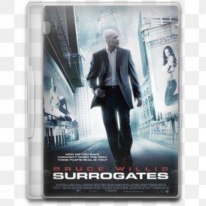 Surrogates - Poster Brand Action Figure Action Film PNG