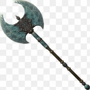 Battle Axe Picture - The Elder Scrolls V: Skyrim U2013 Dragonborn Battle Axe Weapon PNG