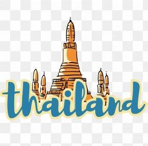 Thailand Vector Logo Material - Euclidean Vector Sticker PNG