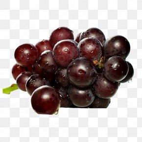 Black Grapes - Champagne Juice Sparkling Wine Grape PNG