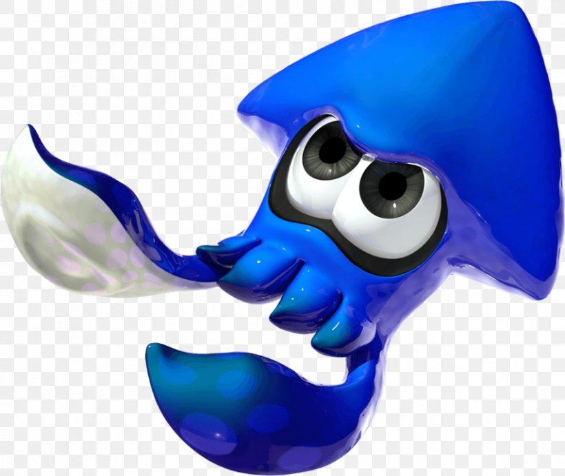 Splatoon 2 Mario Kart 8 Deluxe Squid Octopus, PNG, 854x720px, Splatoon, Amiibo, Cobalt Blue, Cuttlefish, Electric Blue Download Free