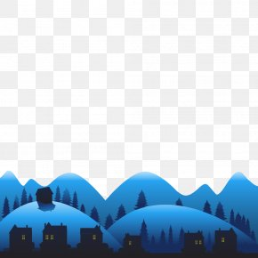 Hand-painted Christmas Snow House Vector Material - Discounts And Allowances Advertising Web Banner Poster PNG