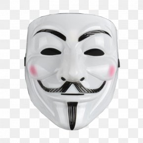 Mask - Guy Fawkes Mask Anonymous 15-M Movement Gunpowder Plot PNG