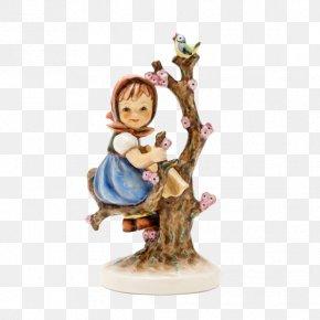 Ki 01-141-01-9 Hummel Manufaktur GmbH Stocker Leopold Einzigartige HandwerkskunstHummel Apple Tree Girl Hummel Figurine 141 - Rothenburg Ob Der Tauber 6-Inch Apple Tree Girl Hummel Figurine PNG