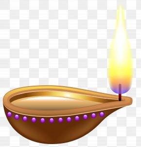 India Candle Transparent Clip Art Image - Diwali Diya Clip Art PNG