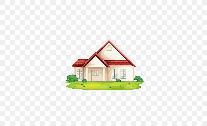 House Stock Photography Clip Art, PNG, 500x500px, House, Area, Building, Decorative Arts, Drawing Download Free