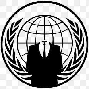 Anonymous Decal Guy Fawkes Mask Million Mask March Security Hacker PNG