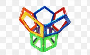 Magnetic Chip Free To Pull - Construction Set Magnet Toy Block Plastic PNG
