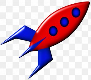 Hand-painted Cartoon Rocket - Drawing Cartoon Clip Art PNG