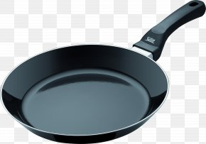 Frying Pan Image - Frying Pan Cookware And Bakeware Non-stick Surface PNG