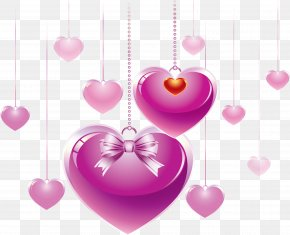 Valentine's Day - Valentine's Day Heart Desktop Wallpaper Clip Art PNG