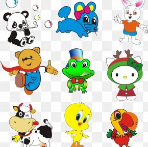 Cute Animal Collection - Adobe Illustrator Clip Art PNG