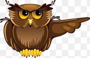 Cartoon Owl - Owl Student Teacher Clip Art PNG