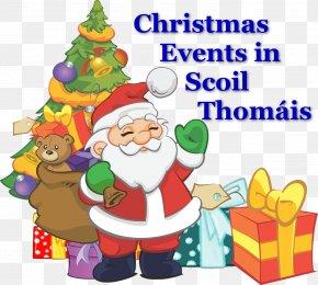 Creole Graphic - Santa Claus Clip Art Christmas Santa Bear Christmas Day PNG