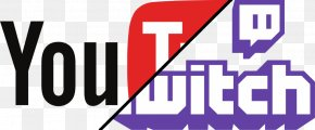 Youtube - YouTube Twitch.tv Logo Streaming Media Image PNG