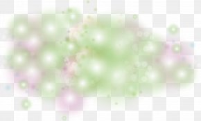 Dream Colorful Halo - Light Close-up Computer Pattern PNG