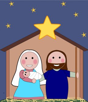 Religious Celebration Cliparts - Nativity Scene Nativity Of Jesus Free Content Clip Art PNG