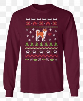 Ugly Christmas Sweater - T-shirt Christmas Jumper Hoodie Sweater PNG