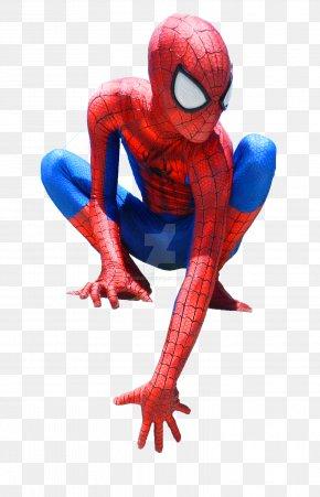 Spider-man - Vertebrate Amphibian Cobalt Blue Electric Blue Organism PNG