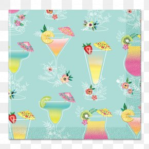 Watercolor Drink Watercolor Tropical Drink - 0 Pattern Illustration Cloth Napkins Drink PNG
