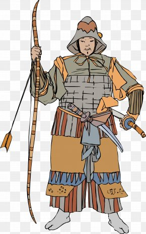 Ancient Japanese Soldiers - Japan Soldier Ancient History PNG