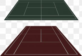 Hand-painted Badminton Court - Tennis Centre Photography Clip Art PNG