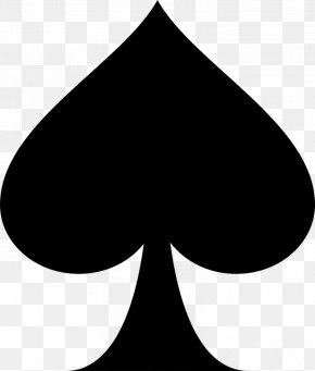 Suit - Ace Of Spades Playing Card Clip Art PNG