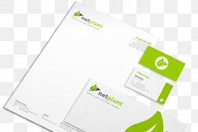 Id Card Design - Logo Brand Green PNG