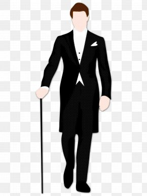 Walking Stick Outerwear - Suit Formal Wear Standing Clothing Tuxedo PNG