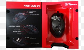 Computer Mouse - Computer Mouse Ventus Z Gaming Mouse MO-VEZ-WDLOBK-01 Thermaltake Input Devices PNG