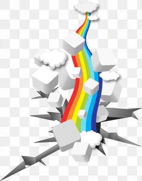 Vector Rainbow - Euclidean Vector Download Clip Art PNG